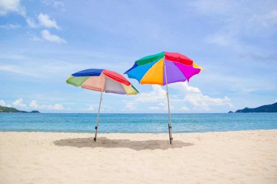 Geometria e ombrellone